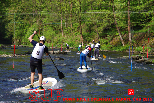 SUP down river OPEN race PARAPLÍČKO 2015 - fotogalerie