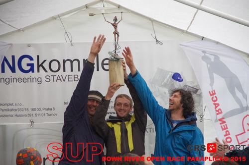 SUP down river OPEN race PARAPLÍČKO 2015 - výsledky