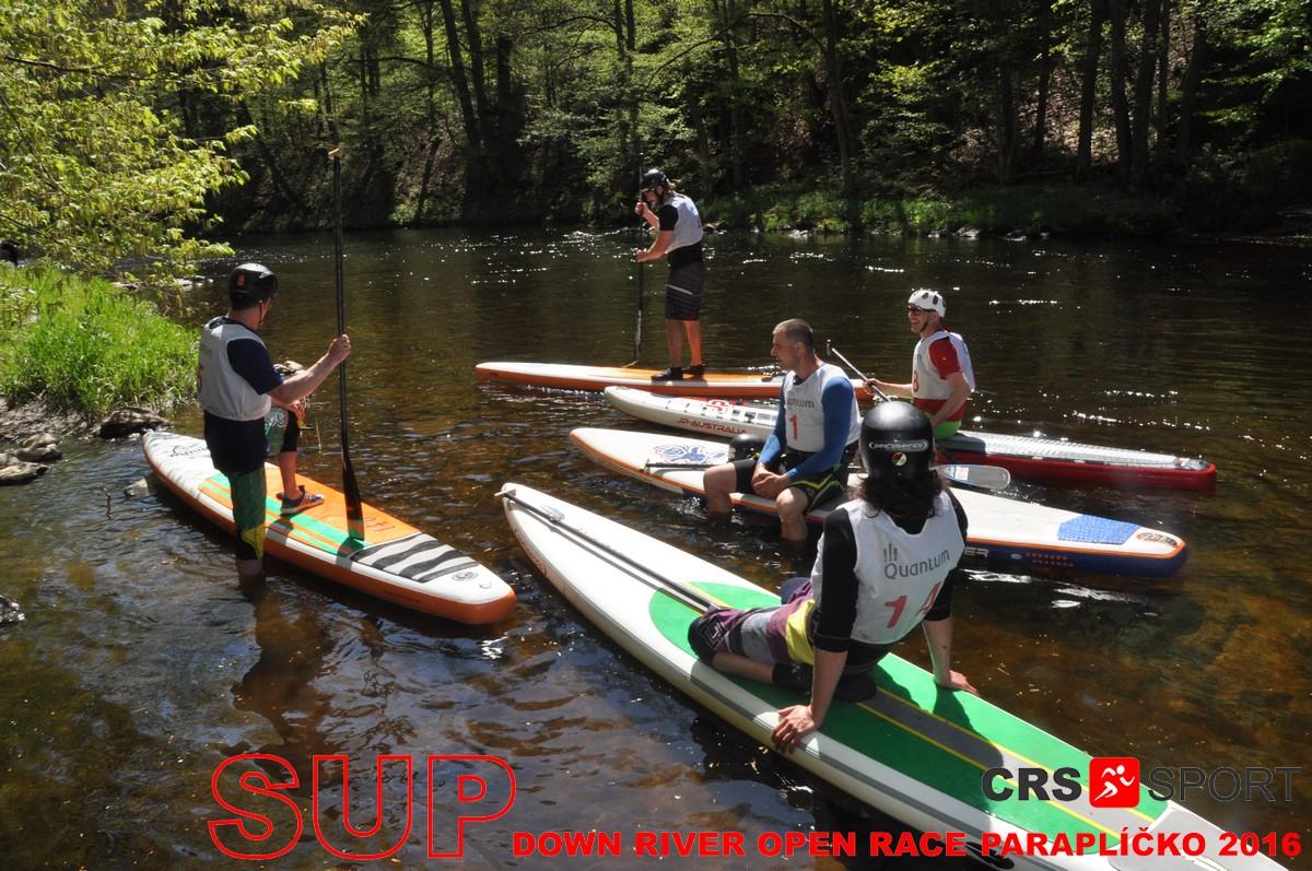 SUP down river OPEN race PARAPLÍČKO 2016 - fotogalerie